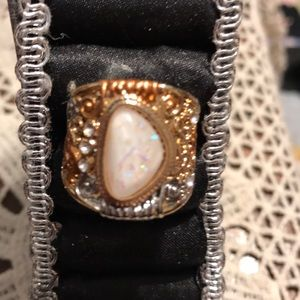 Size 9 opalite ring